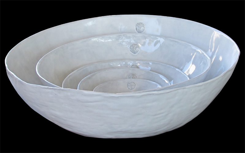 Aix Collection large serving bowls