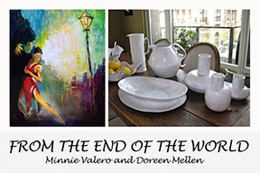 Doreen Mellen -Firends of the World Show invite