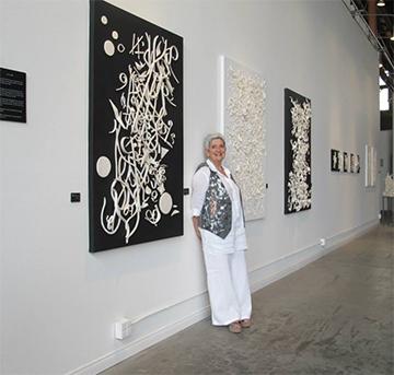 Doreen Mellen Exhibit at glass house